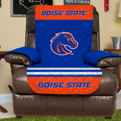 NCAA Recliner Slipcover NCAA Team: Boise State, Size: Large
