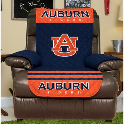 NCAA Recliner Slipcover NCAA Team: Auburn, Size: Small