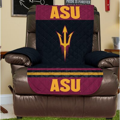 NCAA Recliner Slipcover NCAA Team: Arizona State, Size: Large