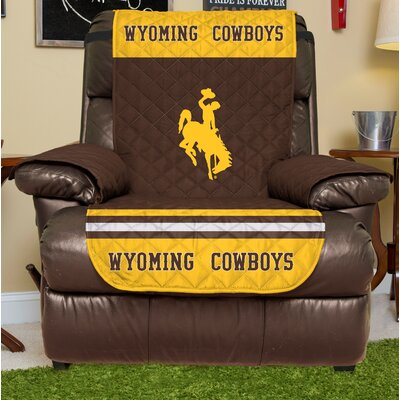 NCAA Recliner Slipcover NCAA Team: University Of Wyoming, Size: Large
