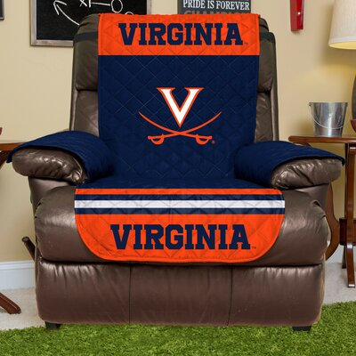 NCAA Recliner Slipcover NCAA Team: University Of Virginia, Size: Large