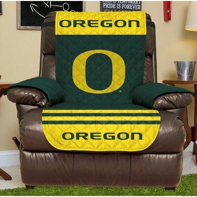 NCAA Recliner Slipcover NCAA Team: University Of Oregon, Size: Small