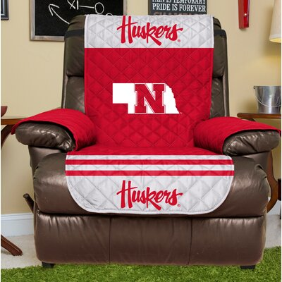 NCAA Recliner Slipcover NCAA Team: University Of Nebraska, Size: Large