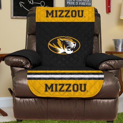 NCAA Recliner Slipcover NCAA Team: University Of Missouri, Size: Large