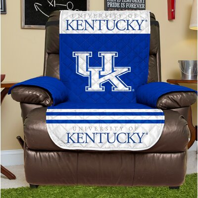 NCAA Recliner Slipcover NCAA Team: University Of Kentucky, Size: Small