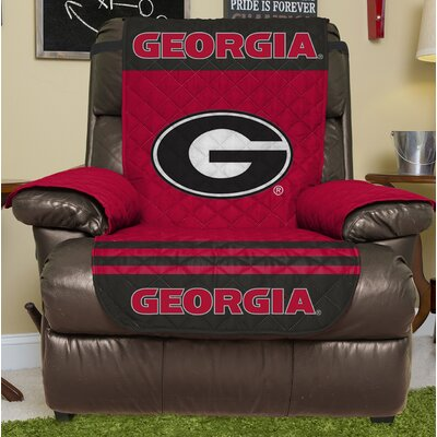 NCAA Recliner Slipcover NCAA Team: University Of Georgia, Size: Small