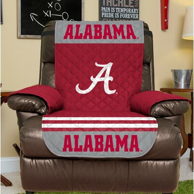 NCAA Recliner Slipcover NCAA Team: University Of Alabama, Size: Small
