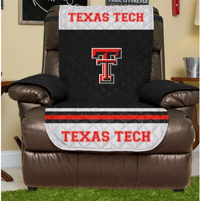 NCAA Recliner Slipcover NCAA Team: Texas Tech, Size: Large