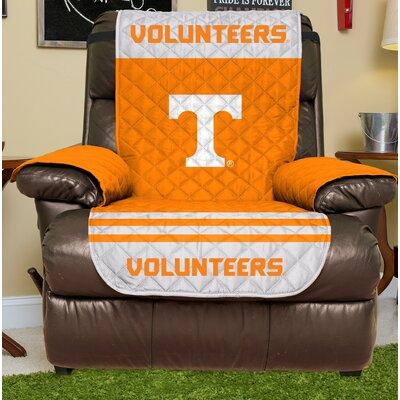 NCAA Recliner Slipcover NCAA Team: Tennessee, Size: Small