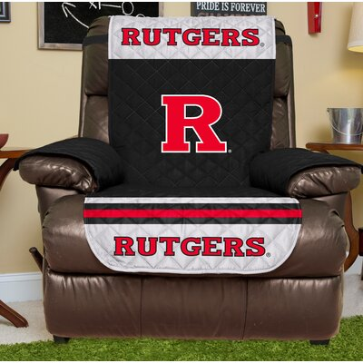 NCAA Recliner Slipcover NCAA Team: Rutgers University, Size: Large