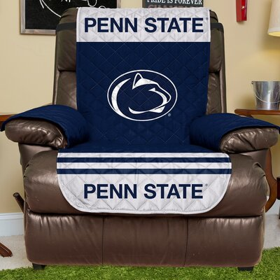 NCAA Recliner Slipcover NCAA Team: Penn State, Size: Small