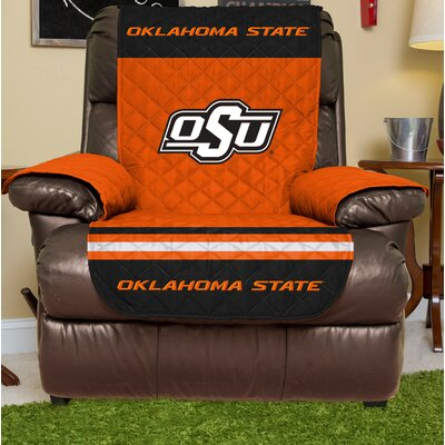 NCAA Recliner Slipcover NCAA Team: Oklahoma State, Size: Large