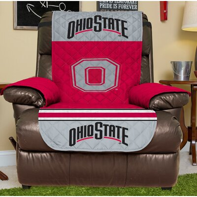 NCAA Recliner Slipcover NCAA Team: Ohio State, Size: Small