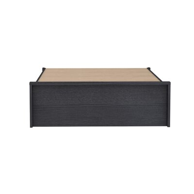 Cowell Storage Platform Bed Color: Espresso, Size: Full