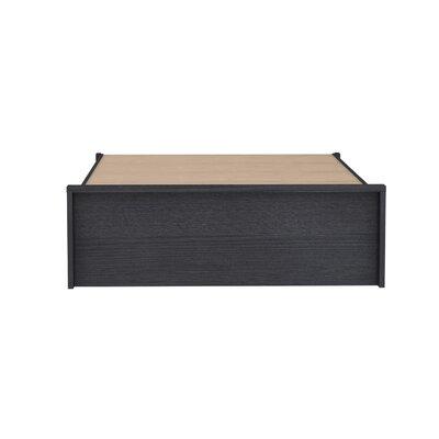 Cowell Storage Platform Bed Color: Espresso, Size: Full