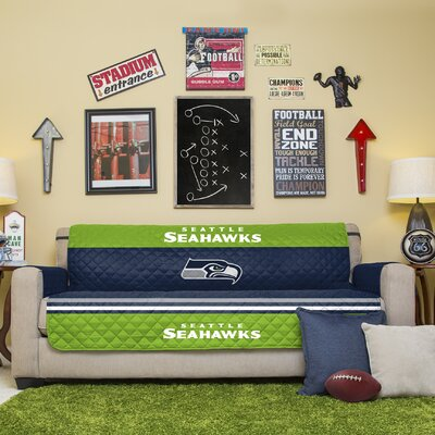 NFL Sofa Slipcover NFL Team: Seattle Seahawks