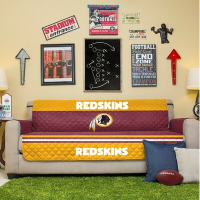 NFL Sofa Slipcover NFL Team: Washington Redskins