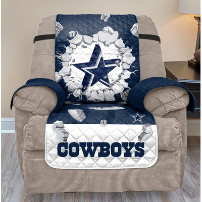 NFL Recliner Slipcover NFL Team: Dallas Cowboys