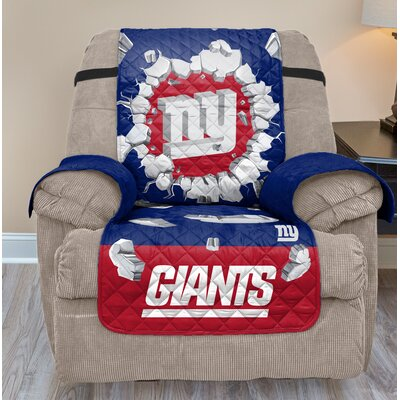 NFL Recliner Slipcover NFL Team: New York Giants