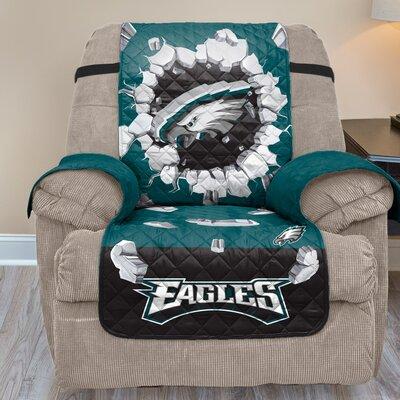 NFL Recliner Slipcover NFL Team: Philadelphia Eagles
