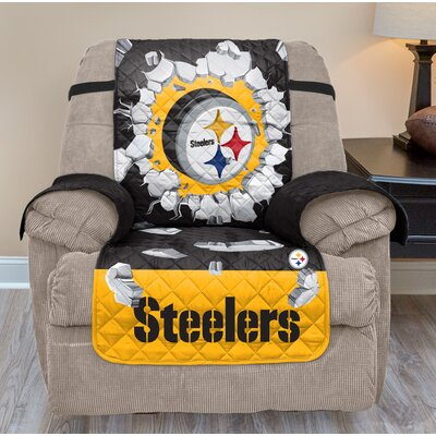 NFL Recliner Slipcover NFL Team: Pittsburgh Steelers