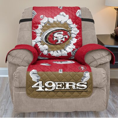 NFL Recliner Slipcover NFL Team: San Francisco 49Ers