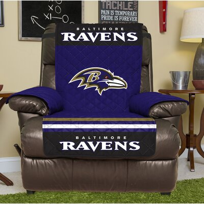 NFL Recliner Slipcover NFL Team: Baltimore Ravens
