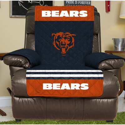 NFL Recliner Slipcover NFL Team: Chicago Bears
