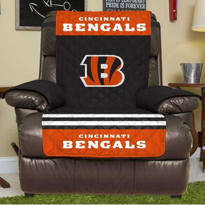 NFL Recliner Slipcover NFL Team: Cincinnati Bengals