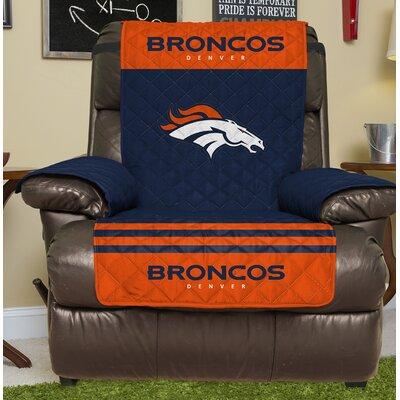 NFL Recliner Slipcover NFL Team: Denver Broncos