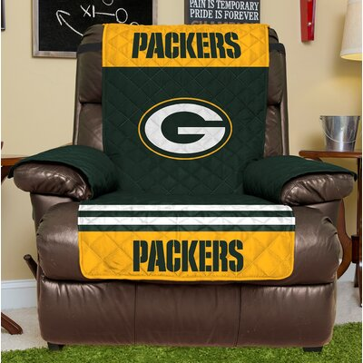 NFL Recliner Slipcover NFL Team: Green Bay Packers