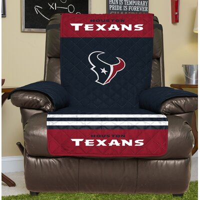 NFL Recliner Slipcover NFL Team: Houston Texans