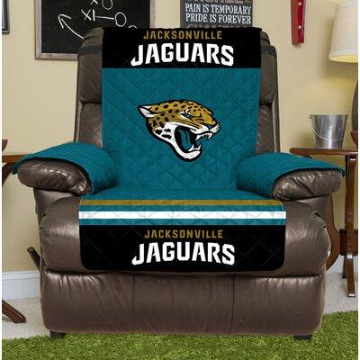 NFL Recliner Slipcover NFL Team: Jacksonville Jaguars