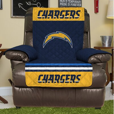 NFL Recliner Slipcover NFL Team: Los Angeles Chargers