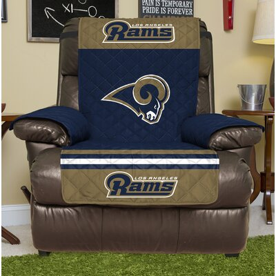 NFL Recliner Slipcover NFL Team: Los Angeles Rams