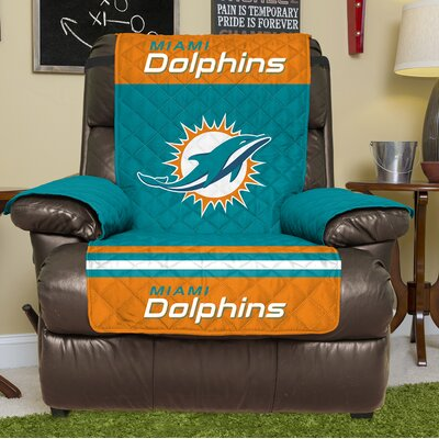 NFL Recliner Slipcover NFL Team: Miami Dolphins