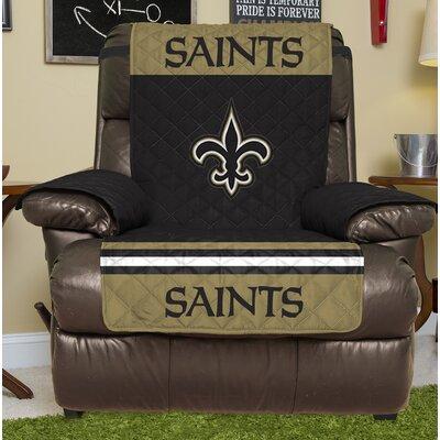 NFL Recliner Slipcover NFL Team: New Orleans Saints