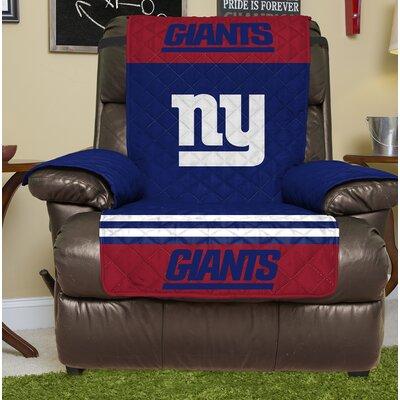 NFL Recliner Slipcover NFL Team: New York Giants