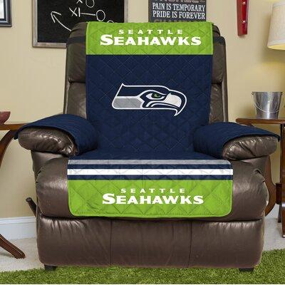 NFL Recliner Slipcover NFL Team: Seattle Seahawks