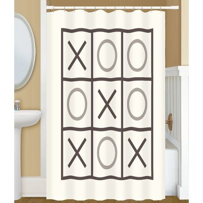 Dreketi Tic Tac Toe Shower Curtain
