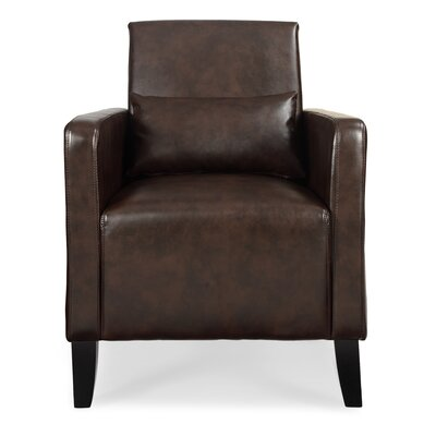 Chumley Flare Armchair Upholstery: Wenge