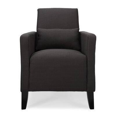Chun Flare  Armchair Upholstery: Black