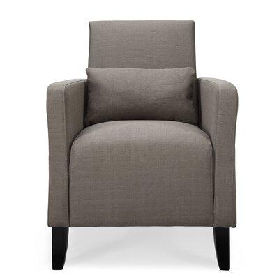 Chun Flare  Armchair Upholstery: Granite
