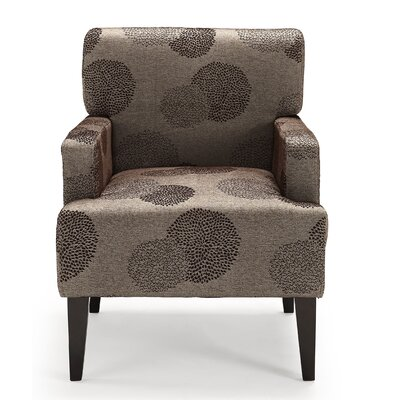 Costales Armchair Upholstery: Bark/Floral