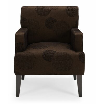 Costales Armchair Upholstery: Brown/Floral