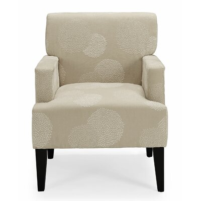 Costales Armchair Upholstery: Ivory/Floral