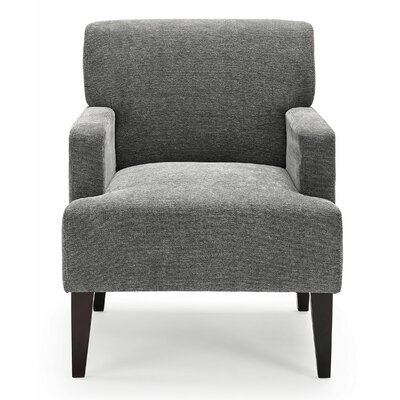 Costales Armchair Upholstery: Charcoal/Solid
