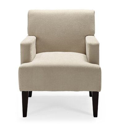 Costales Armchair Upholstery: Ivory/Solid