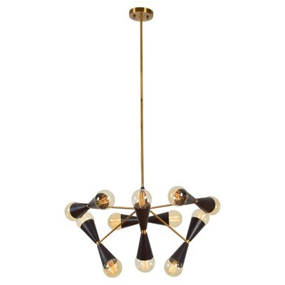 Howes 6-Light Geometric Pendant