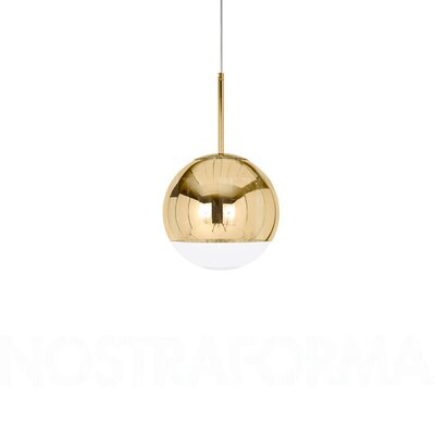 Howie 1-Light LED Globe Pendant